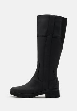 Timberland - GRACEYN TALL SIDE ZIP WP - Stiefel - black