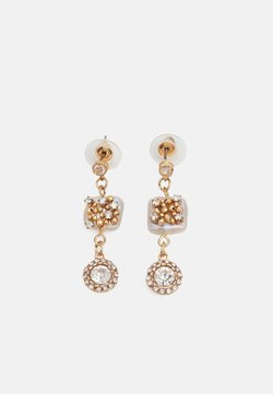 sweet deluxe - Earrings - gold-coloured/crystal