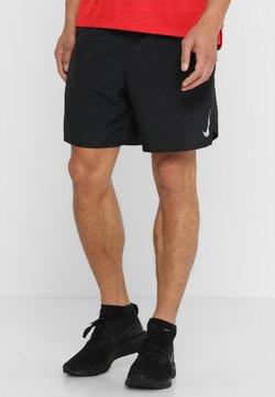 Nike Performance - CHALLENGER SHORT - Pantalón corto de deporte - black/black/reflective silver