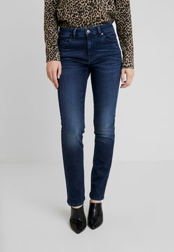 Mavi - DARIA - Straight leg jeans - glossy blue glam
