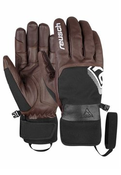 Reusch - Fingerhandschuh - dark brown / black