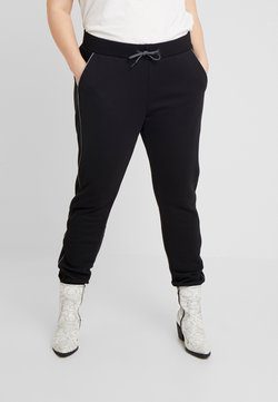 Urban Classics Curvy - LADIES REFLECTIVE  - Jogginghose - black