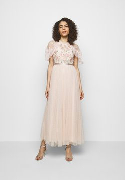 Needle & Thread - EMMA DITSY BODICE DRESS - Ballkjole - strawberry icing