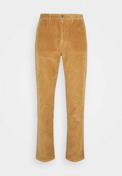 Tommy Hilfiger - TAPERED  - Stoffhose - brown