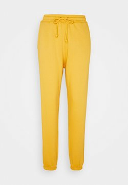 Missguided Tall - JOGGER - Jogginghose - yellow