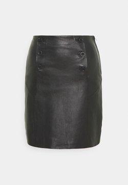 YAS - YASTRIVIAL SKIRT - Mini skirt - black