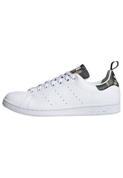 adidas Originals - STAN SMITH PRIMEGREEN ORIGINALS SHOES - Sneakers laag - ftwr white/ftwr white/core black