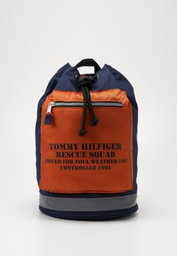 Tommy Jeans - ARCHIVE DRAWSTRING BAG - Reppu - beige