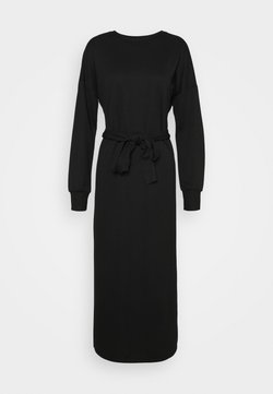 ONLY - ONLHOLLIE LONG BELT DRESS - Maxiklänning - black