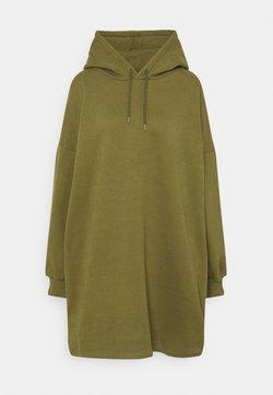 NU-IN - OVERSIZED HOODIE DRESS - Vapaa-ajan mekko - khaki