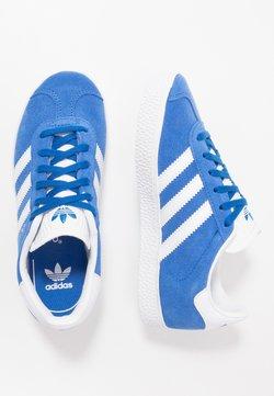 adidas Originals - GAZELLE - Sneaker low - blue/footwear white/gold metallic