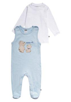 Jacky Baby - SET - Strampler - hellblau/weiß