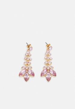Pieces - PCMELANI EARRINGS - Boucles d'oreilles - gold-coloured/pink