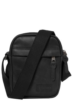 Eastpak - THE ONE/LEATHER - Umhängetasche - black ink leather