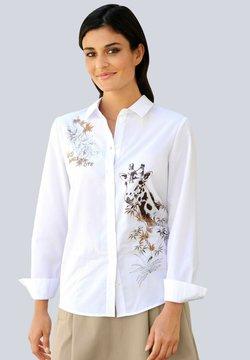 Alba Moda - Hemdbluse - weiß,beige