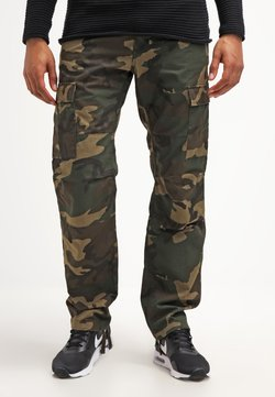 Carhartt WIP - AVIATION PANT COLUMBIA - Reisitaskuhousut - camo laurel