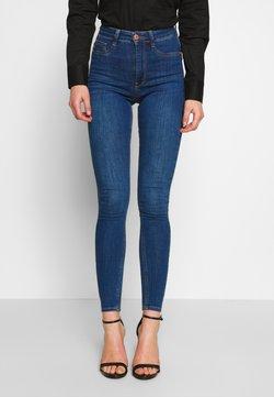 Gina Tricot - HIGHWAIST - Jeans Skinny Fit - dark blue