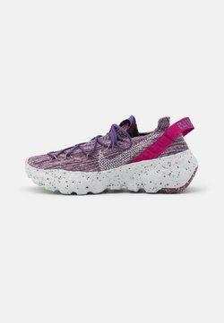 Nike Sportswear - SPACE HIPPIE - Trainers - cactus flower/photon dust/gravity purple