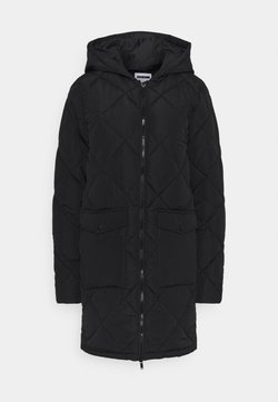 Noisy May Tall - NMFALCON JACKET - Classic coat - black