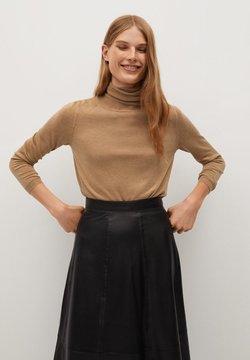 Mango - LUCASC - Stickad tröja - medium brown