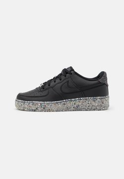 Nike Sportswear - AIR FORCE 1 KSA UNISEX - Sneaker low - black/metallic silver