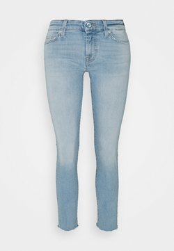 7 for all mankind - PYPER CROP ILLUSION SWEET - Jeans Skinny Fit - light blue