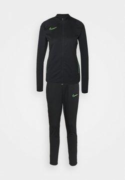 Nike Performance - SUIT - Trainingsanzug - black/green strike