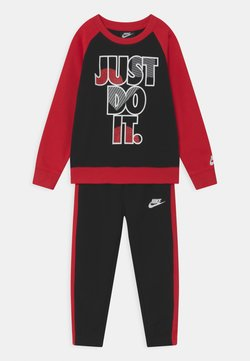 Nike Sportswear - CREW SET  - Survêtement - black