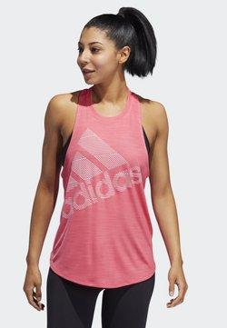 adidas Performance - BADGE - Funktionsshirt - pink