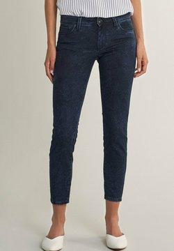 Salsa - PUSH UP CAPRI - Jeans Skinny - blau