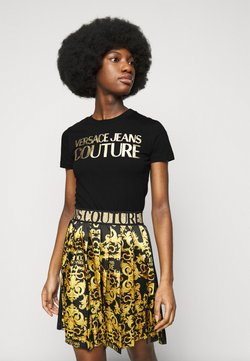 Versace Jeans Couture - LADY - T-Shirt print - black/gold