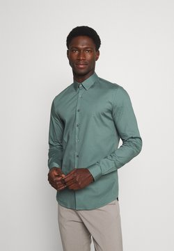 Calvin Klein Tailored - LOGO STRETCH EXTRA SLIM - Businesshemd - balsam green