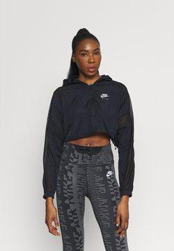 Nike Performance - AIR JACKET CROP - Chaqueta outdoor - black/reflective silver
