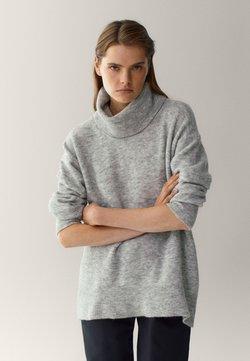 Massimo Dutti - Sweter - grey