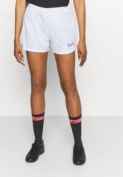 Nike Performance - DRY ACADEMY SHORT - Short de sport - white/black