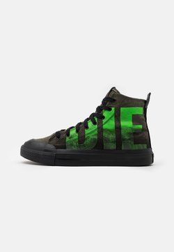 Diesel - ASTICO S-ASTICO MC - Sneakers hoog - forest green