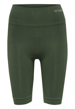 Hummel - SEAMLESS - Shorts - thyme