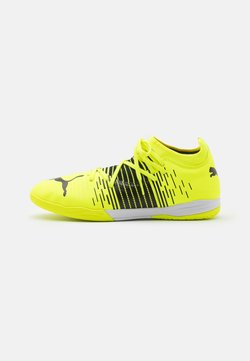 Puma - FUTURE Z 3.1 IT - Indoor football boots - yellow alert/black/white
