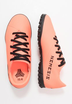 adidas Performance - NEMEZIZ 19.4 TF - Fußballschuh Multinocken - signal coral/core black/solar red