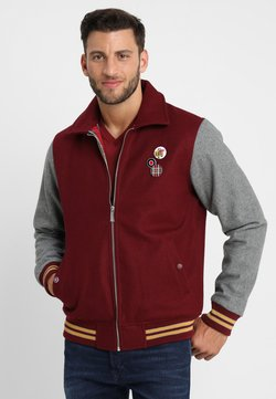 HARRINGTON - TEDDY - Blouson Bomber - bordeaux