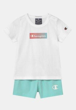 Champion - SET UNISEX - T-shirt print - white