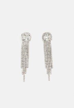 Pieces - PCLAGGY EARRINGS - Earrings - silver-coloured