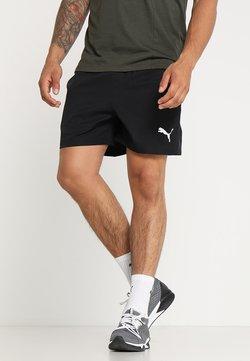 Puma - ACTIVE SHORT - kurze Sporthose - black