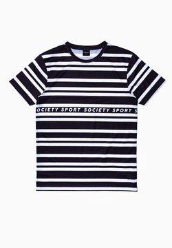 Society Sport - T-Shirt print - black/white