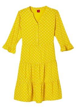 s.Oliver - Freizeitkleid - yellow aop