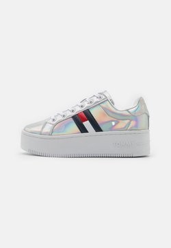 Tommy Jeans - FULLY IRIDESCENT IRONIC - Sneakers - silver