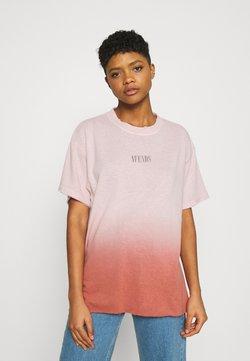 Afends - COURTNEY LOVE - T-Shirt print - ash pink