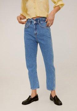 Mango - SLOUCHY - Straight leg -farkut - blue