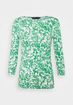 Marks & Spencer London - FITTED FLOR - Langarmshirt - green