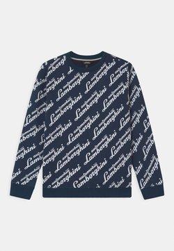 Automobili Lamborghini Kidswear - LOGOSCRIPT - Sweater - blue hera